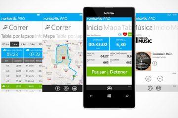 Baixe Runtastic para Windows Phone. Se você está se exercitando, esse é seu aplicativo