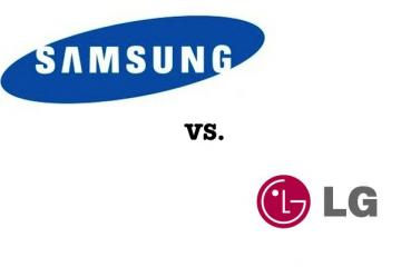 Diferença entre Samsung e LG