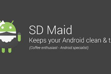 Limpe seu cartão com SD-Maid