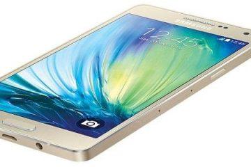 Como fazer capturas de tela no Galaxy A5?