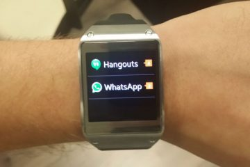 Como instalar o WhatsApp em um Samsung Galaxy Gear?