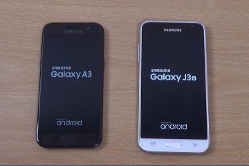 Samsung Galaxy J3 2017 vs Samsung Galaxy A3 2017: Qual comprar?