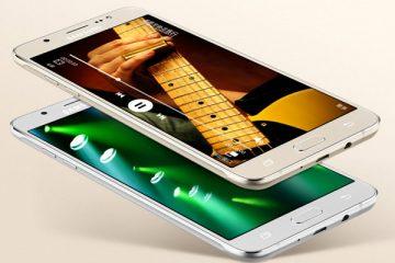 Não é possível enviar e-mails no Samsung Galaxy J7