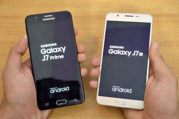 Diferenças entre Samsung J7 e j7 Prime