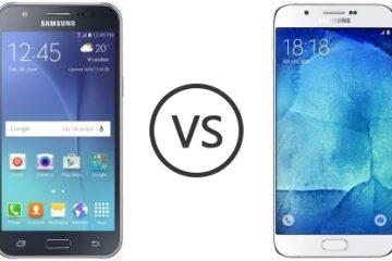 Samsung J7 vs Samsung J7 2016. Principais diferenças