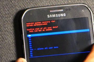 Como acessar o Modo de recuperação no Samsung Galaxy S5?