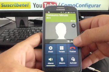 Como gravar chamadas em um Samsung Galaxy S6?