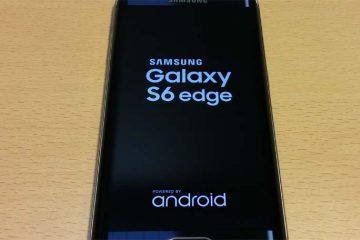 Solução de luz azul que pisca no Samsung Galaxy S6
