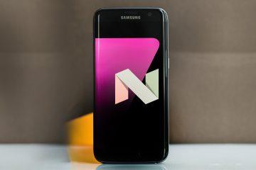 A solução Samsung Galaxy S7 não é atualizada para o Nougat