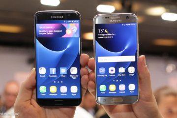 As principais diferenças entre o Galaxy Note 5 e o Galaxy S7