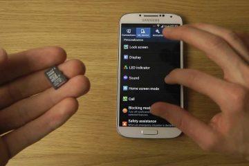 Por que um celular Samsung não reconhece o cartão SD