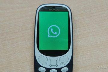 O WhatsApp pode ser instalado no Nokia 3310?
