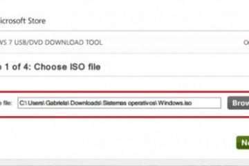 Como criar um USB inicializável ou inicializável para instalar o Windows 7 a partir de um pendrive externo? Guia passo a passo