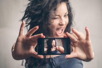 As pessoas estão morrendo de vontade de tirar uma selfie