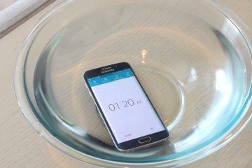 Resistência à água do Samsung Galaxy S9 e Galaxy S9 Plus
