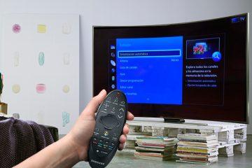 Ajustar canais na Samsung Smart TV