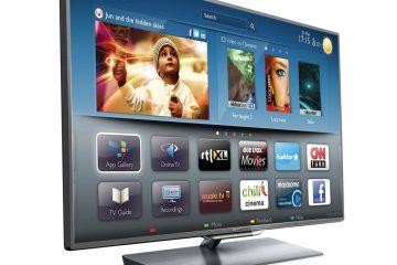 Como saber se minha TV inteligente tem Bluetooth?