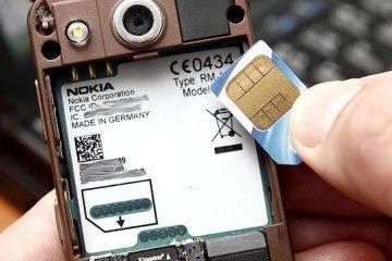 Solução O cartão SIM é de origem desconhecida