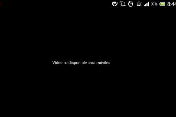 Solução: você não pode reproduzir este vídeo no Android