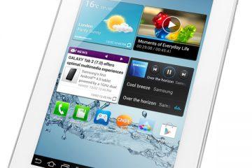Como formatar ou redefinir a fábrica de um tablet Samsung Tab 2?
