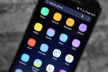 Como ter o tema e os fundos do Galaxy S8 em qualquer telefone celular