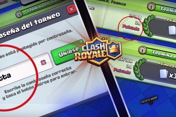 Como pular a senha de torneios privados no Clash Royale?