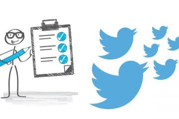 Como criar uma pesquisa do Twitter no Android