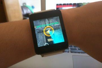 Veja as Poképaradas no Smartwatch