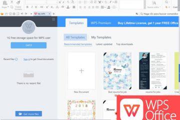 Descubra uma alternativa fantástica ao Microsoft Office, o pacote de escritório WPS Office