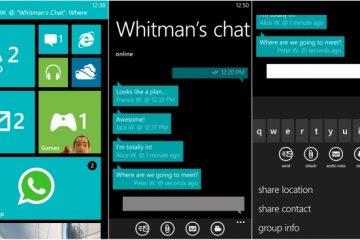 É assim que você pode excluir os áudios do WhatsApp no Windows Phone