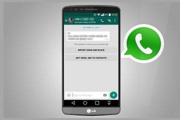 Tenha o WhatsApp ativado com um número falso