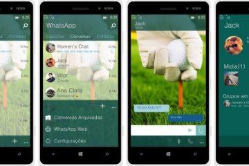 O WhatsApp para Windows 10 Mobile já está disponível