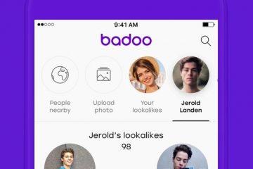 Como saber quem gosta no Badoo?