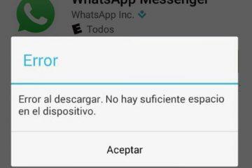 Como atualizar o WhatsApp SEM espaço suficiente