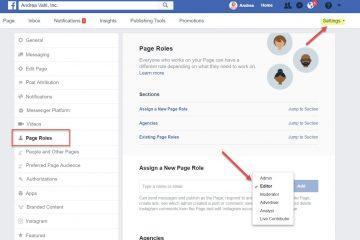 Como tornar alguém administrador de uma página no Facebook? Rápido e fácil