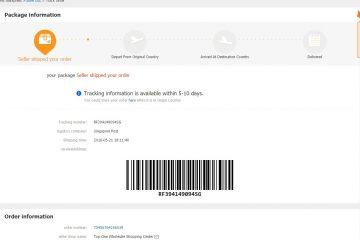 Como rastrear uma compra no Aliexpress em qualquer país?