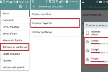 Como passar todos os contatos de um telefone Android para um iPhone? Guia passo a passo