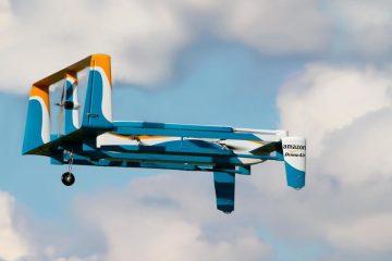 Amazon apresenta seus novos drones para entregar produtos que você compra on-line