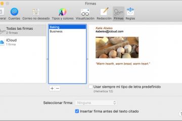 Como criar e excluir sua própria assinatura no Mac Mail?