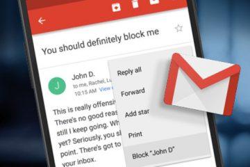 Como bloquear e-mails de alguém no Gmail