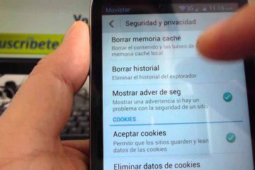 Limpar histórico de navegação no Android