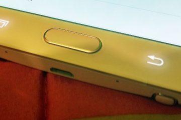 Como ativar os botões capacitivos da Samsung de uma maneira muito simples