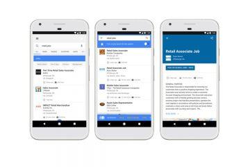 Como procurar trabalho no Google com a função Jobs?