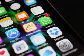 Como alterar o plano de fundo das suas conversas do WhatsApp Messenger no iPhone 6. 7 8 xr?