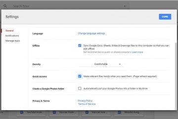 Como alterar o idioma padrão do Google Drive