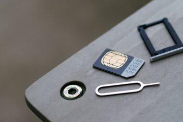 Como mudar um cartão SIM de uma maneira muito simples?