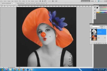Como editar uma foto para que apenas uma área tenha cores?