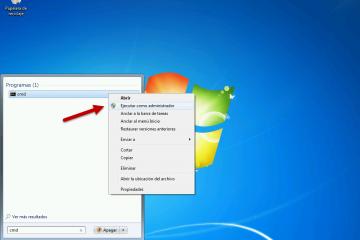 Como executar o console de comando CMD no Windows 7, 8 ou 10