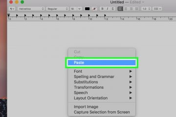 Como copiar e colar em Mac Text e Images?