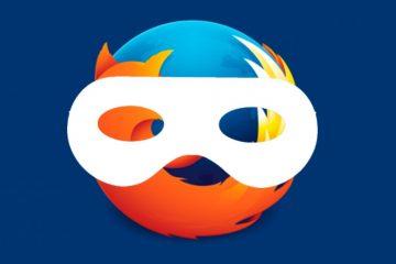 Como ativar o modo de navegação anônima ou privado no Mozilla Firefox